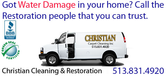 Greater Cincinnati OH Water Damage Restoration